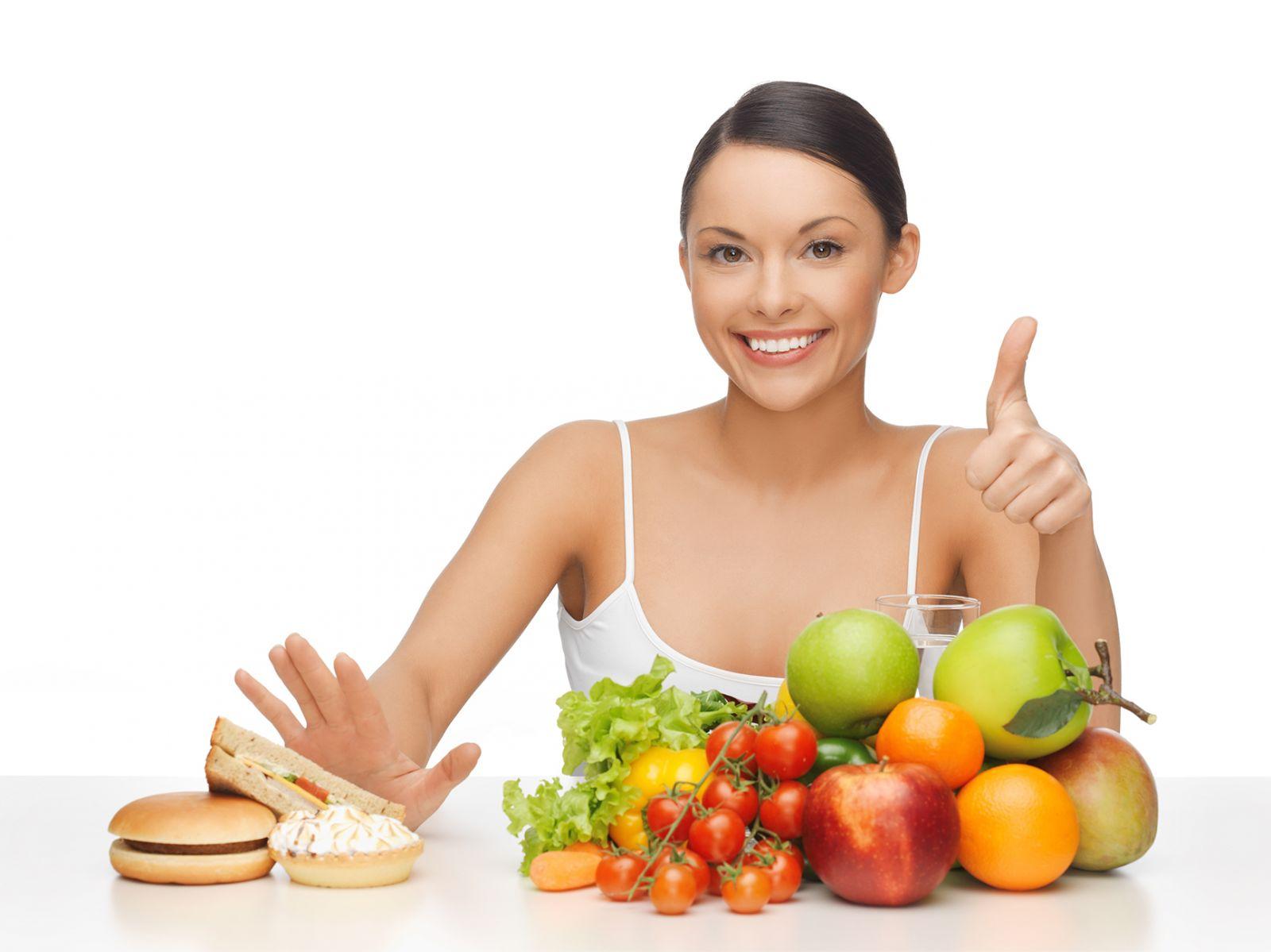 Ăn nhiều rau củ, hoa quả tươi để hỗ trợ giảm cân hiệu quả