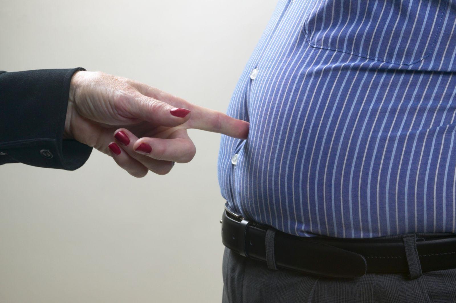Béo bụng khiến nam giới giảm phong độ