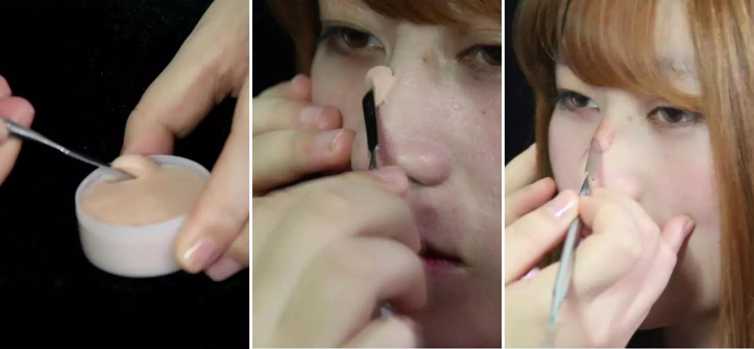 Cách làm sống mũi cao bằng sáp đang ngày càng phổ biến