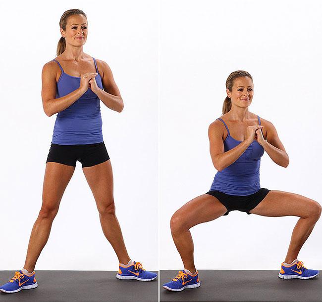 Bạn có thể thực hiện bài tập nâng mông này