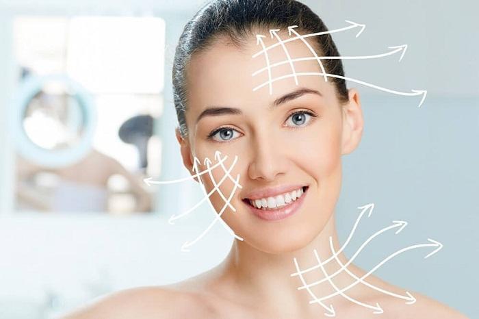 Phương pháp căng da mặt bằng chỉ không tiêu trẻ hoá làn da