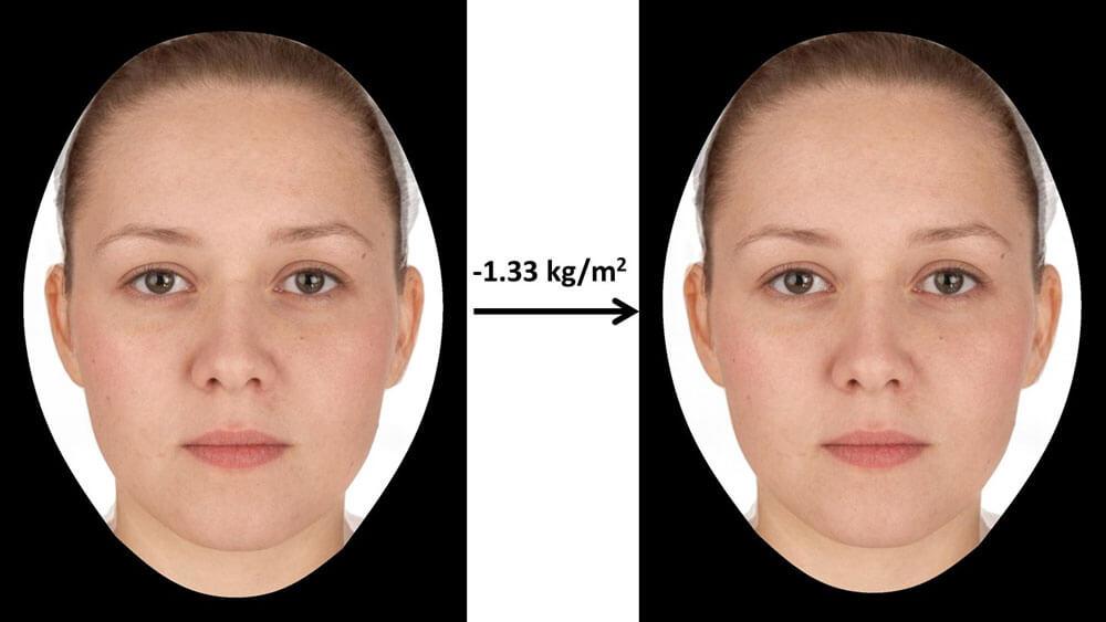 Giảm béo mặt cũng là phương pháp nâng cơ mặt tại nhà hiệu quả