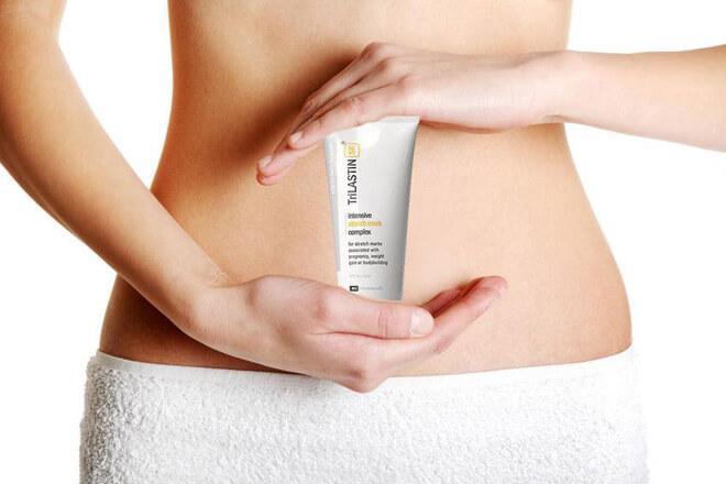 Sử dụng các loại kem trị rạn da