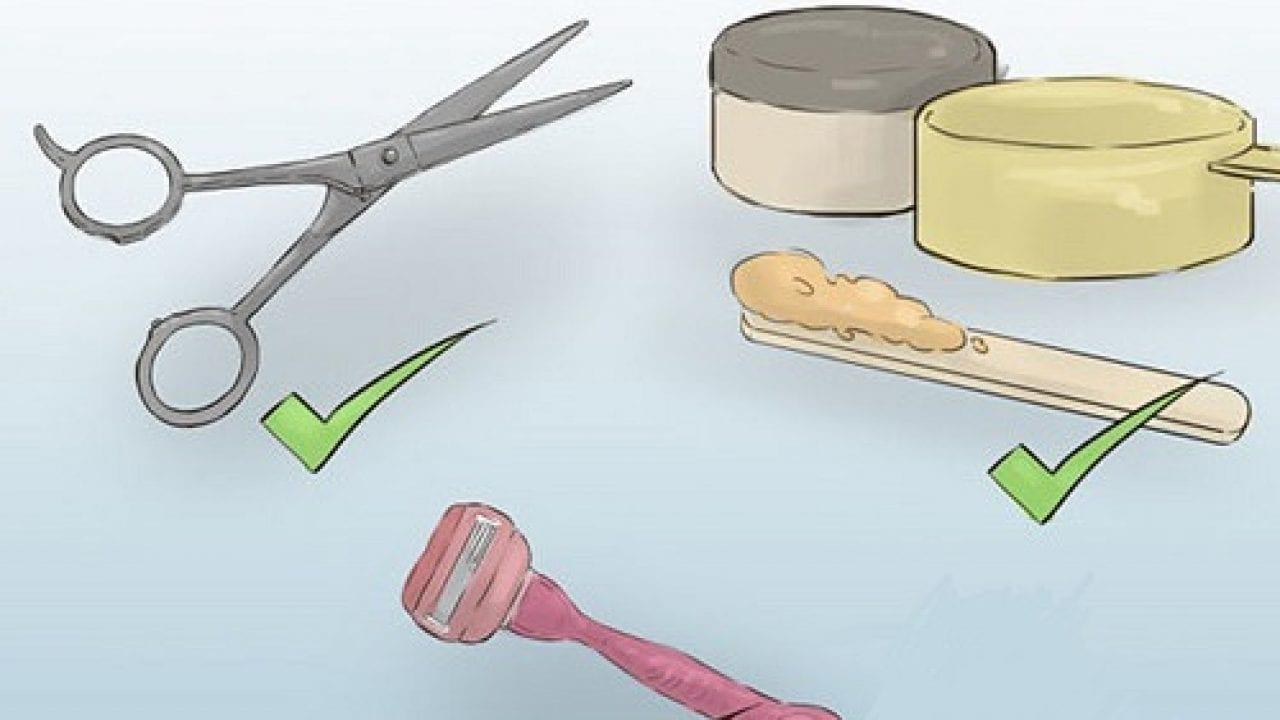 Sử dụng kéo tỉa lông cũng là cách dễ dàng