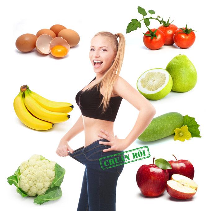 Chế độ dinh dưỡng thế nào để giảm mỡ bụng