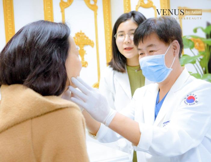 Venus By Asian địa chỉ căng da mặt uy tín của nhiều khách hàng