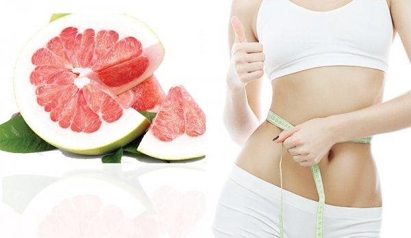 Ăn bưởi giảm mỡ bụng