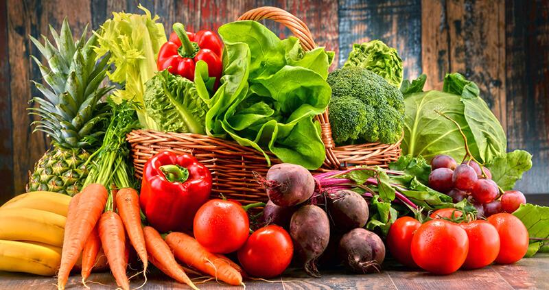 Rau là nhóm thực phẩm cần tăng cường khi ăn kiêng giảm mỡ bụng