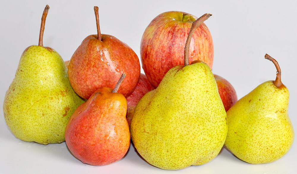 Bổ sung lê và táo vào thực đơn ăn kiêng của mình