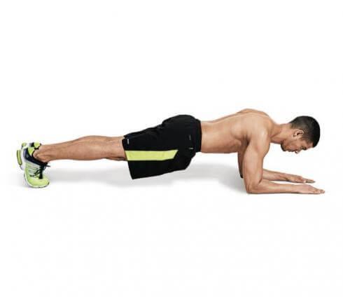 Động tác plank giảm mỡ bụng