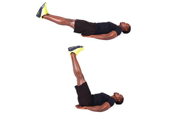 Bài tập Leg Raise giúp giảm béo bụng