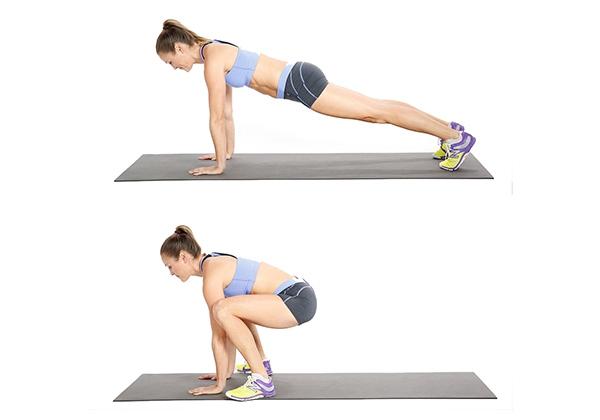 Bài tập Tabata giảm mỡ bụng có cường độ cao