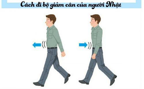 Cách đi bộ giảm cân của người Nhật rất hiệu quả