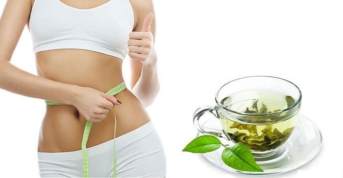 Cách giảm mỡ bụng dưới cho nữ bằng trà xanh