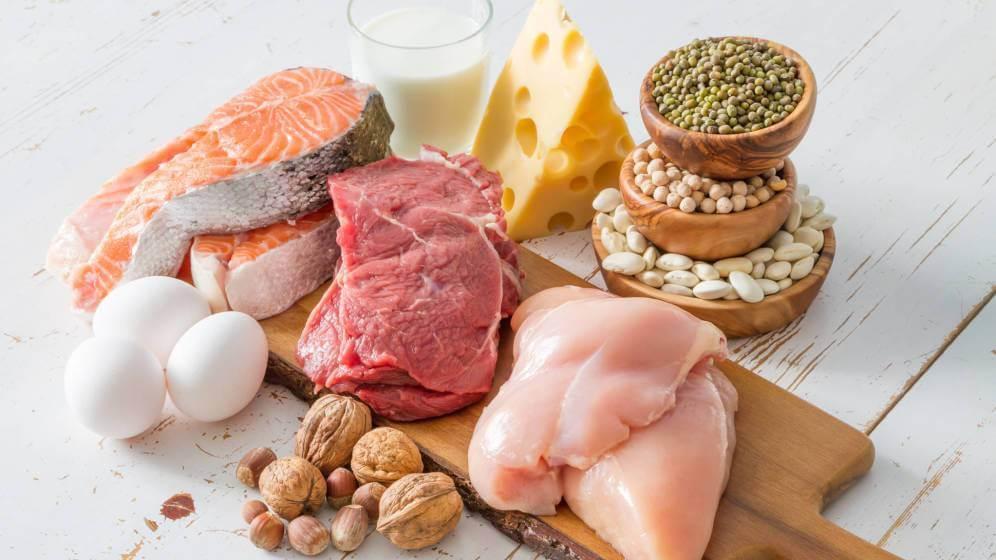 Thực phẩm chứa nhiều protein vừa cung cấp đầy đủ dinh dưỡng vừa hạn chế hình thành mỡ bụng