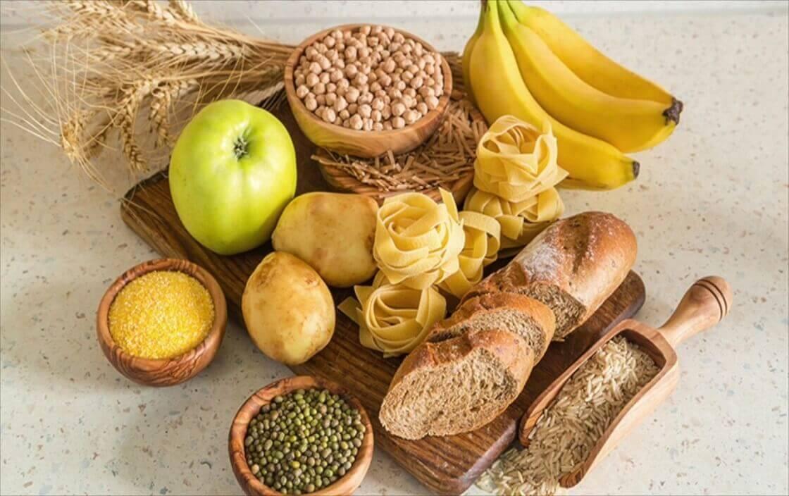 Cách làm mông to với thực phẩm chứa carbohydrate lành mạnh