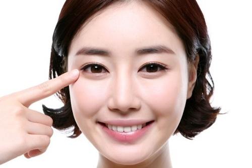 Bọng mỡ mắt là tình trạng da dưới quầng mắt sưng phồng