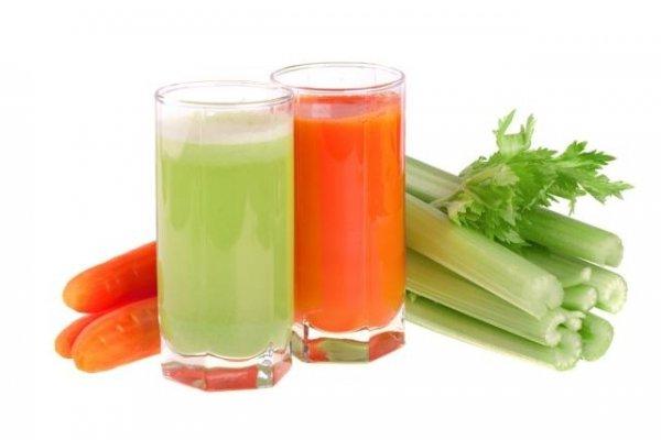 Nước ép cần tây và cà rốt giảm mỡ hiệu quả