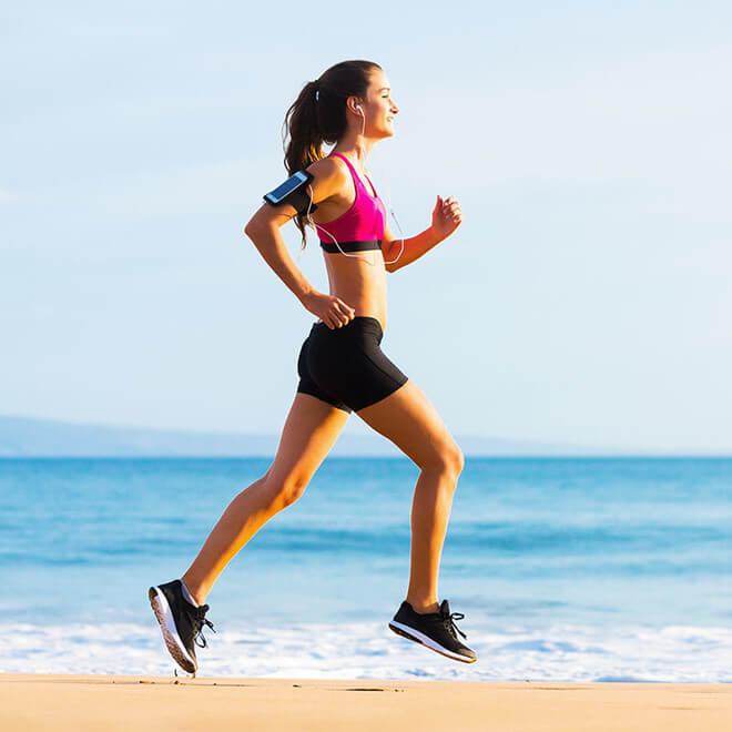 Khởi động cơ thể nhẹ nhàng trước khi chạy