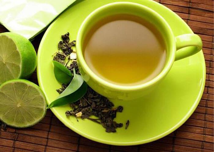 Detox trà xanh