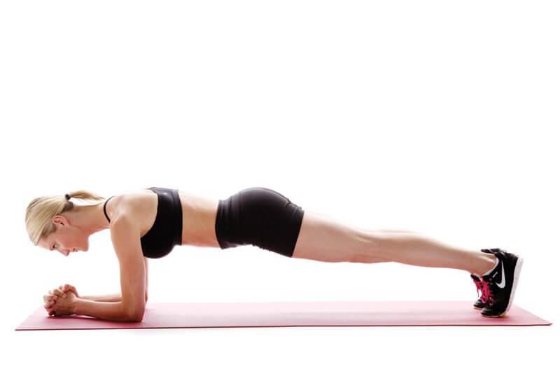 Động tác plank giúp giảm mỡ bụng hiệu quả