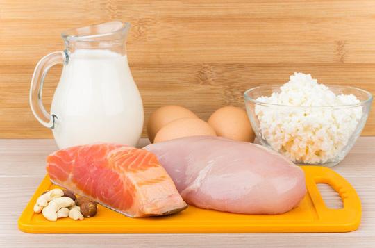 Nhóm thực phẩm giàu protein giúp giảm béo bắp chân