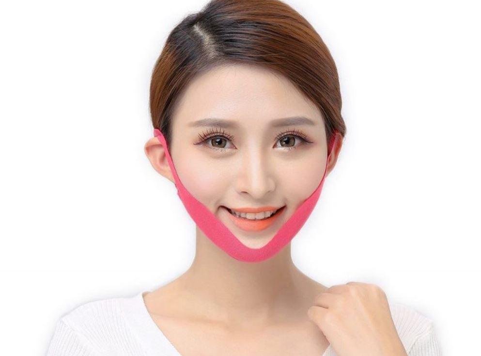 Sử dụng miếng dán tan mỡ mặt