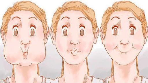 Ăn kẹo cao su giảm béo ở mặt