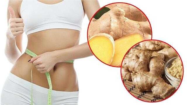 Cách giảm mỡ bụng bằng gừng tươi hiệu quả tại nhà