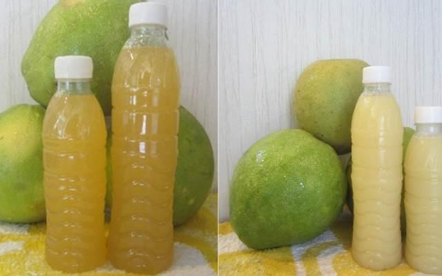 Cách giảm mỡ bụng bằng phương pháp tự nhiên - nước ép bưởi