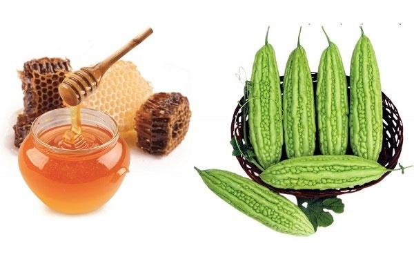Giảm mỡ bụng bằng mướp đắng và mật ong
