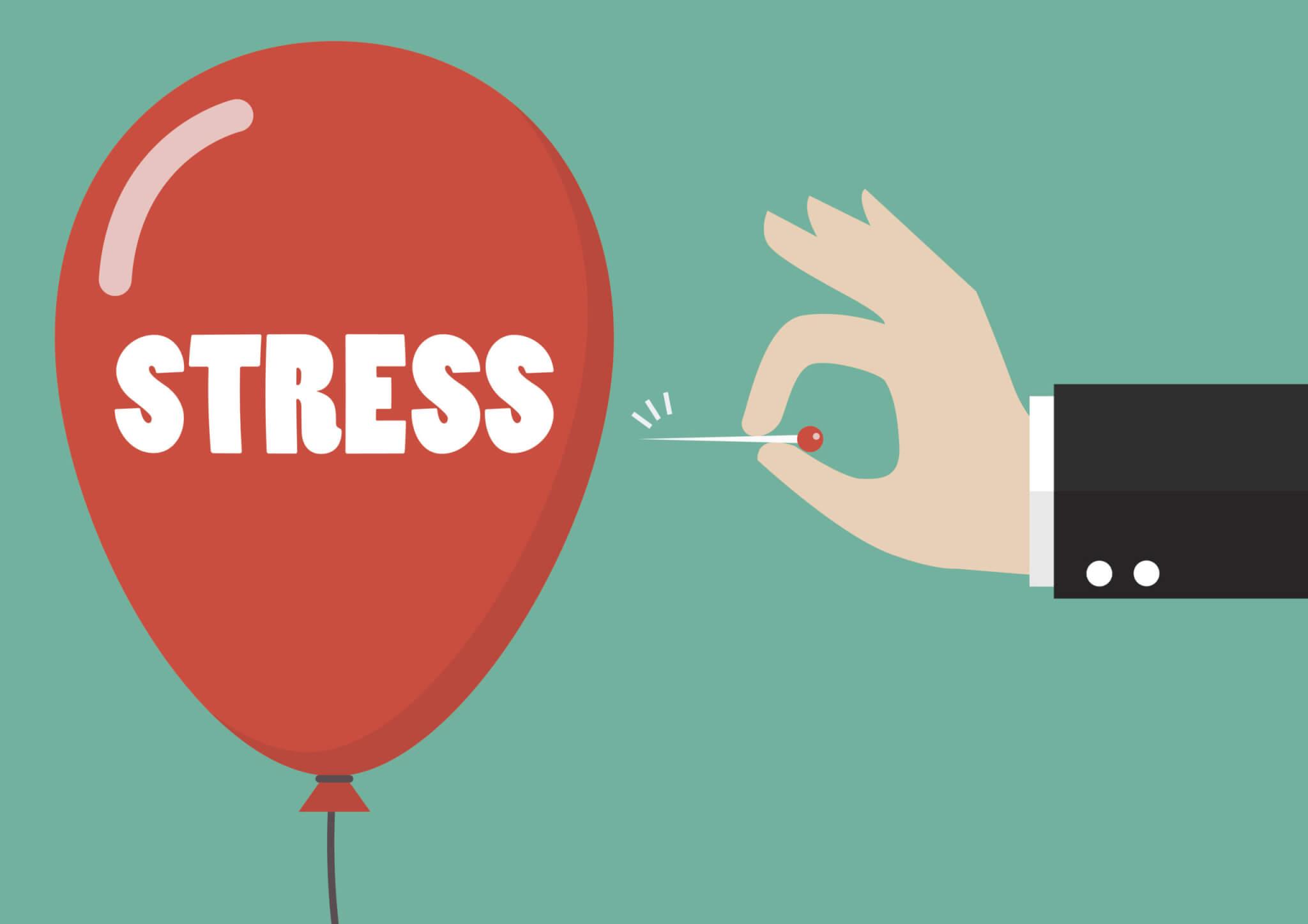 Giảm thiểu những căng thẳng, giữ tinh thần luôn thoải mái