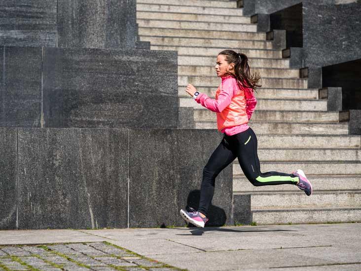 Chạy bộ đốt cháy lượng lớn chất béo và tăng tốc độ trao đổi chất