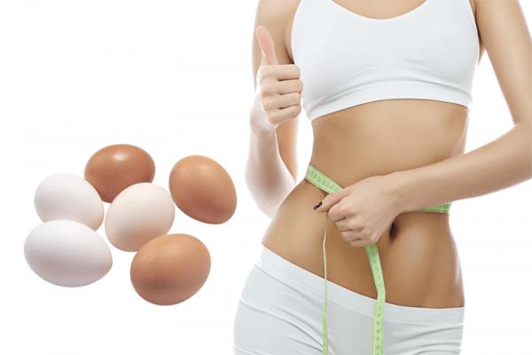 Sử dụng trứng giúp giảm mỡ bụng vô cùng hiệu quả