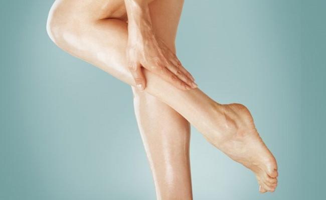 Massage để giảm mỡ đùi và bắp chân
