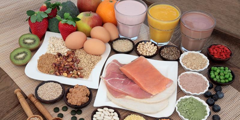 Thực phẩm giàu protein thúc đẩy quá trình tiêu hoá, giúp cơ thể no lâu