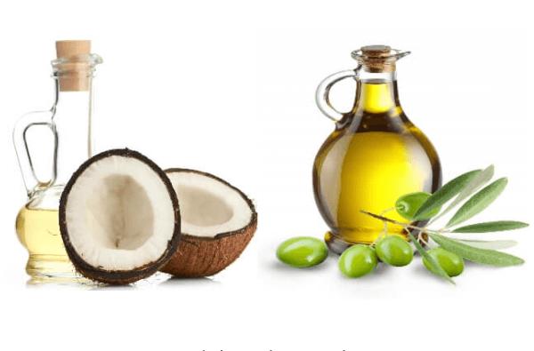 Bạn có thể kết hợp dầu oliu và dầu dừa