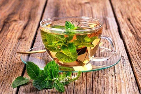 Uống trà xanh giảm mỡ bụng kết hợp lá bạc hà