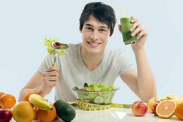 Nam giới nên ăn theo thực đơn giảm mỡ bụng