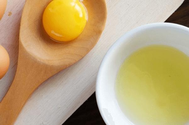 Cách chăm sóc vùng kín hồng hào bằng lòng trắng trứng