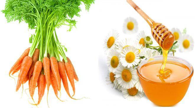 Mặt nạ đu đủ, cà rốt và mật ong
