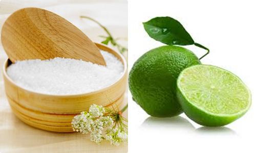 Massage giảm mỡ bụng với chanh và muối