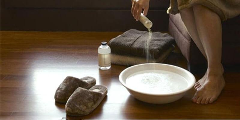 Xông vùng kín với muối