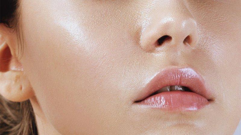 Hình ảnh về làn da dầu