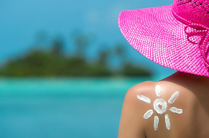 Bảo vệ làn da dưới ánh sáng mặt trời