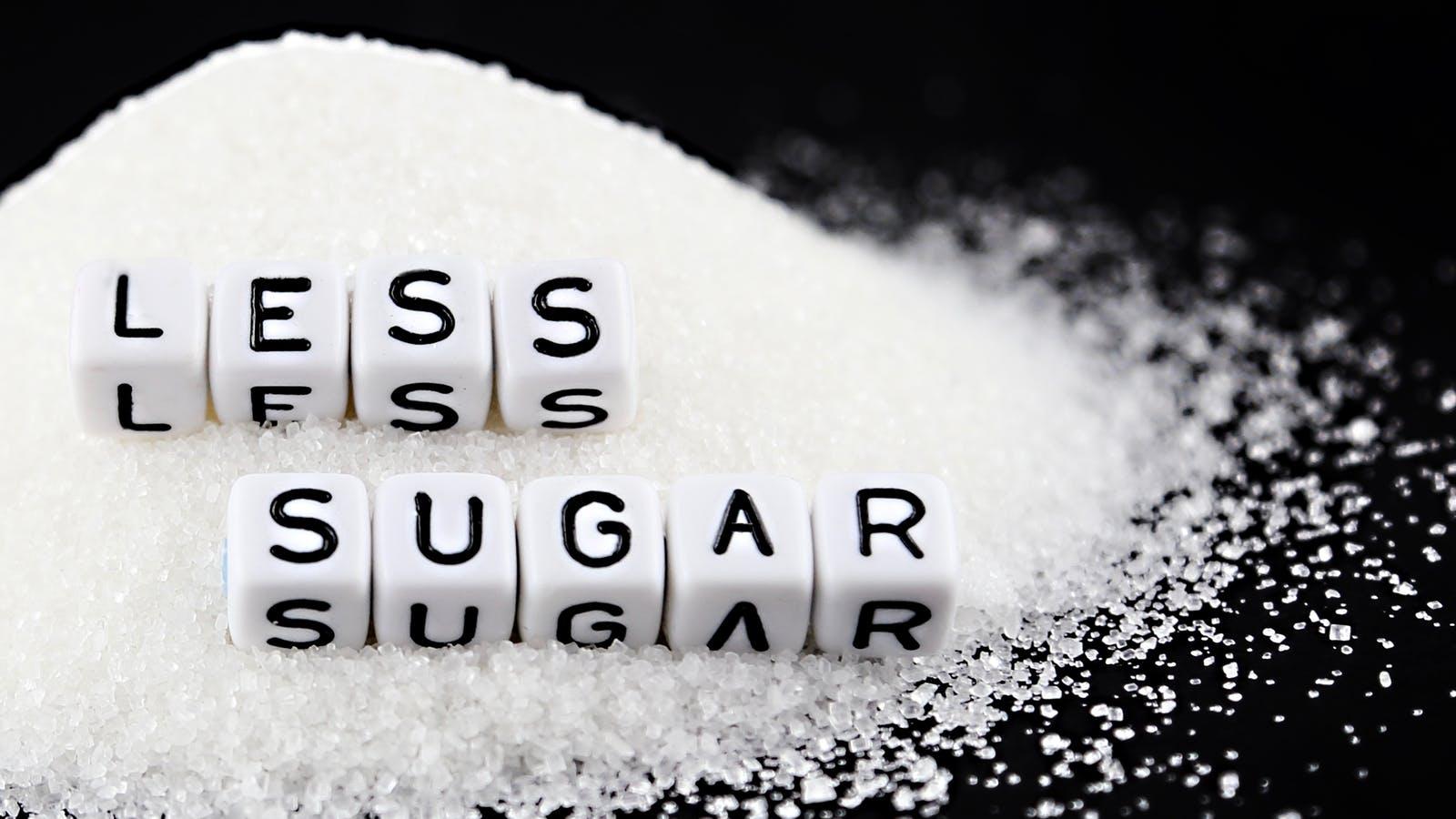 Giảm tiêu thụ các thực phẩm nhiều đường