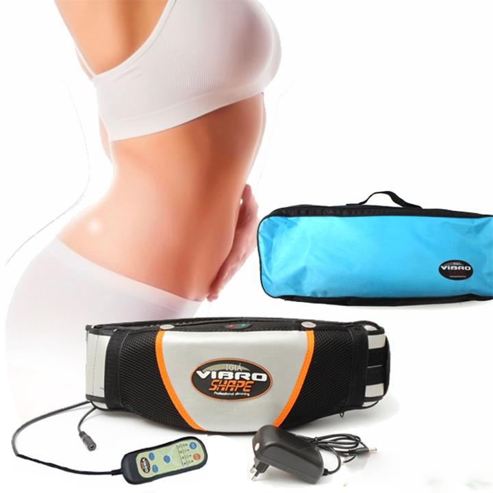 Sử dụng miếng dán hoặc đai rung giảm mỡ bụng