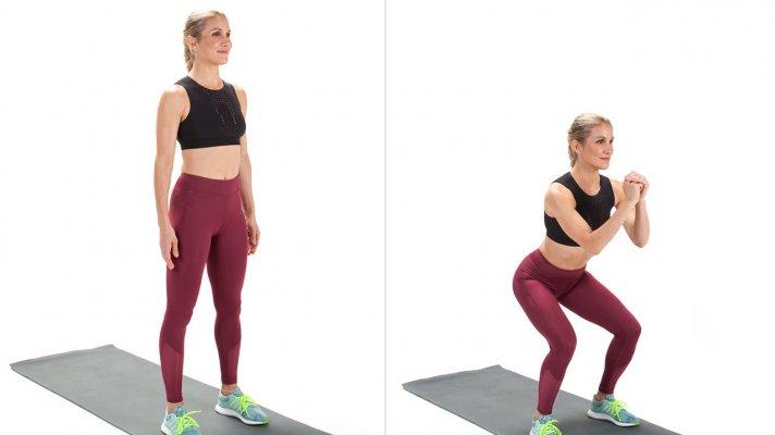 Các bài tập thể dục giảm mỡ đùi hiệu quả