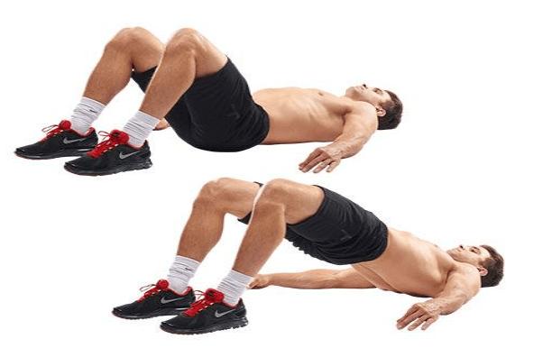 Bài tập Hip Thrust nâng cơ mông cho nam