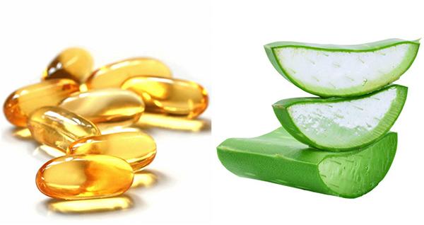 Vitamin E giúp làm sáng da rất tốt